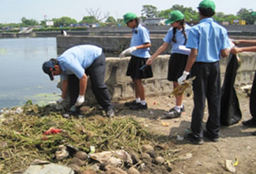 Ocean Clean Up Project,CPS,Nagpur