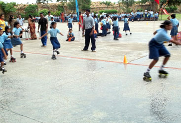 Centre Point Schools, Nagpur skating rink