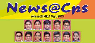 News@CPS - E-Newsletter Volume-XIII-No.1 Sept.2019